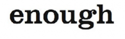 Enough_logo